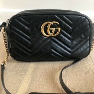 100% Authentic Gucci Marmont Crossbody